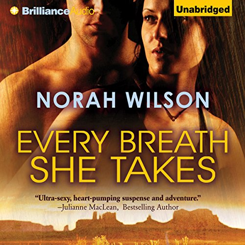 Every Breath She Takes audiobook cover art