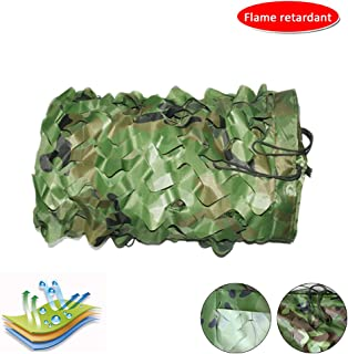 Image of KDDEON 210D Oxford Cloth Flame Retardant Camo Netting,Bar Restaurant Factory Decoration Camouflage Net,Garden Terrace Shade Net,Camping Shooting Hunting Jungle Camo Net