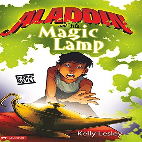 Aladdin and His Magical Lamp audiobook cover art