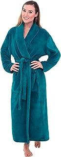 Women's Warm Fleece Robe, Long Plush Bathrobe