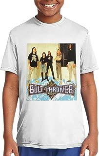 DoohcwBDJ Boys and Girl's Bolt Thrower Spearhead Summer Fashion Short Sleeve T Shirt Youth Gift Black