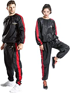 DNRZY F.I.T Sweat Sauna Suits Durable Long Sleeves Running Workout Clothes
