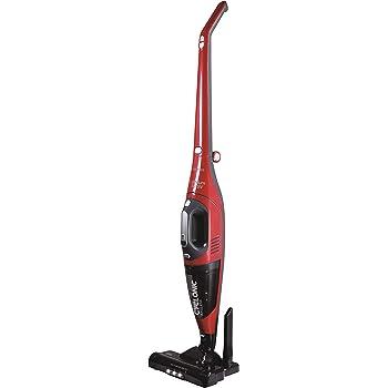 SOGO SS-16150-R Aspiradora vertical 2 en 1 Ciclónico | Sin cables | Cepillo Motorizado | Silencioso | Aspiradora Fácil de Limpiar | 150W - Color Rojo y Gris: Amazon.es: Hogar