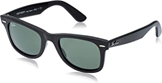 Ray-Ban WAYFARER - BLACK Frame CRYSTAL GREEN Lenses 50mm Non-Polarized