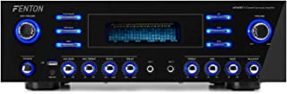 Fenton AV340BT Amplificador Surround 5CH HQ Bluetooth USB 2 entradas de micrófono MP3