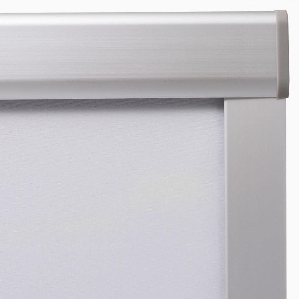 vidaXL Store Enrouleur occultant Beige F06 Rideau pour fenêtre de Toit Blanc M08/308/Mk08
