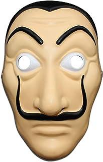 Money Heist Mask Dali Mask - Unisex La Casa De Papel Costume Mask Salvador Dali Cosplay
