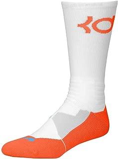 Nike Men's Hyper Elite Kevin Durant Black/Photo Blue/Team Orange Socks