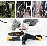 450W bicicleta electrica motor barato económico kit fácil de bricolaje e - bike Ebike conversion kit Electric Bike Side Mounted diseño de motor (36V450W)