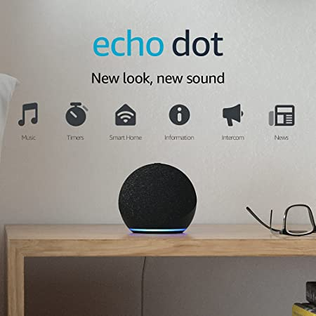Echo Dot (4th generation) | Smart speaker with Alexa