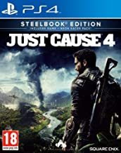 Just Cause 4 Steelbook Edition with Neon Racer Pack (PS4)