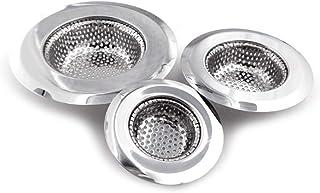 Stainless Steel Kitchen Sink Strainer (Pack of 3 )