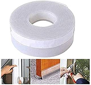 Litenyx Door Sealing Strips for Seal Sound Proof, Insect, Window Tape for Home Bottom Rubber Sealing Sticker Seal Strip (Transparent) (1 Pc) (3 Meter)