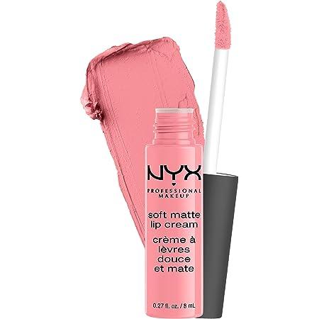 NYX PROFESSIONAL MAKEUP Soft Matte Lip Cream, Lightweight Liquid Lipstick - Tokyo (Bubblegum Pink)