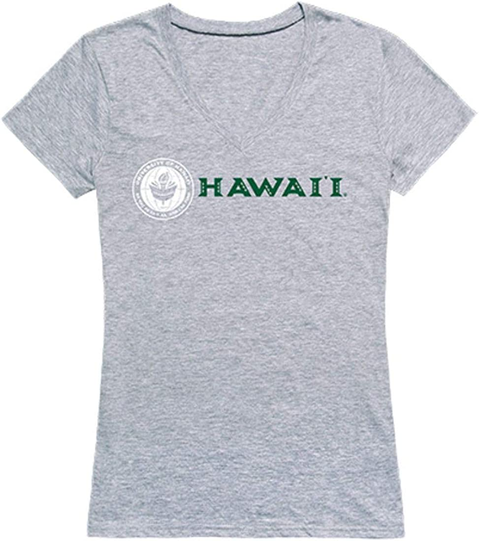 University Popular products of Hawaii Rainbow Warriors T-Sh NCAA Seal Women's Tee San Jose Mall