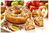 THE PERFECT FOOD GIFT FOR ANY OCCASION - This traditional Danish coffee cake is a delicious gift idea! Perfect for birthdays,Thanksgiving, Christmas or just for you! ONLY THE FINEST INGREDIENTS - Fresh apples and cinnamon - these are a few of our fav...