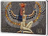 Power Coin Goddess ISIS Masterpieces Moneda Plata 56$ Solomon Island 2020