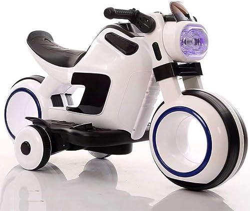 Nuevos productos de artículos novedosos. CHTOYS Motocicleta Motocicleta Motocicleta eléctrica para Niños 2-4-6 años de Edad El bebé Puede Viajar con Seguridad Dos Ruedas de Carga eléctrica Coche de Juguete  liquidación hasta el 70%