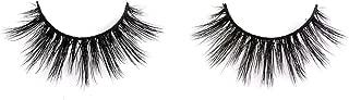 Lunamoon 3D Mink False Eyelashes Siberian Mink Fur Long Thick Hand-made Reusable Eyelashes Natural Look for Women's Makeup 1 Pair Pack (Kim)