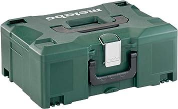 Metabo Metaloc II gereedschapskoffer (zonder inhoud, stapelbaar, onbreekbare doos, twee handgrepen, 396 x 296 x 157,5 mm) ...