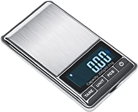 TBBSC Jewelry Scale,Reloading Weighing, High, Precision Digital Pocket Scale (Silver-200g/0.01g)