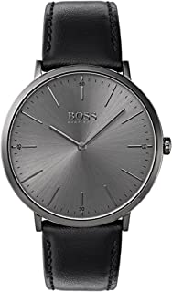 Hugo Boss Men 1513540 Year-Round Analog Quartz Black Watch