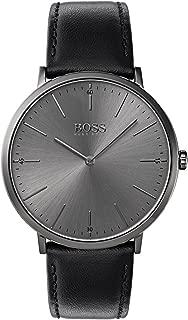 Hugo Boss Men 1513540 Year-Round Analog Quartz Black Watch