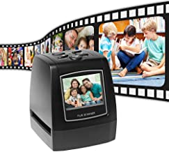 "$59 » Film Scanners with 22MP Converts 126KPK/135/110/Super 8 Films, Slides & Negatives All in One into Digital Photos, 2.4"" LCD..."
