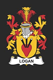 Logan: Logan Coat of Arms and Family Crest Notebook Journal (6 x 9 - 100 pages)