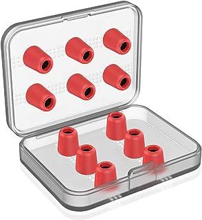 12Pcs Replacement Eartips- RIYO Premium Memory Foam Earphone Earbuds Tips Noise Reducing Earbud Tips for 5mm-7mm in-Ear He...