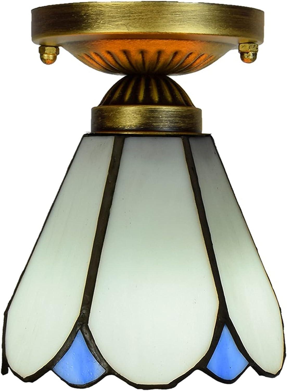 Alsnn Max 62% OFF Tiffany Max 62% OFF Style Mini Ceiling Inch Lamp 6 Mediterranean Simpl