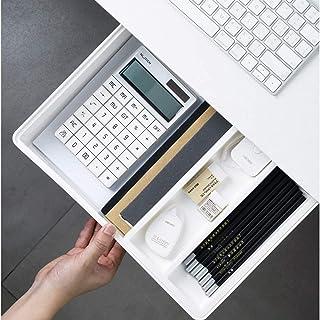 Desk Drawer, Office Storage Organizer,Standing Desk Hidden Drawer Organizer with Smooth Sliding Track for Office/Bedroom/S...