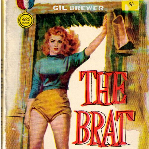 The Brat audiobook cover art
