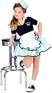 waitress costume girls
