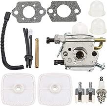 Kuupo PB200 Carburetor Air Filter Tune Up Kit for Echo ES210 ES211 PB201 PS200 ES-210 ES-211 PB-200 PB-201 PS-200 Blowers A021000942 Zama C1U-K78 Carb