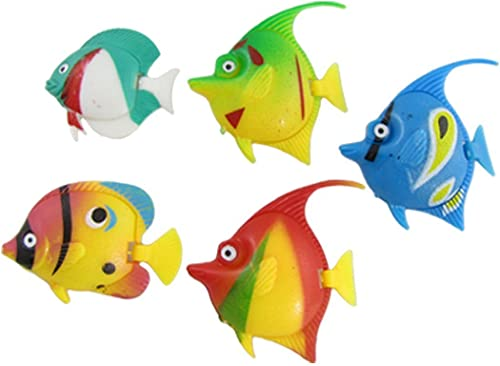 2021 Mallofusa 5PCS Artificial Aquarium Decoration high quality Decor sale Plastic Fish outlet sale