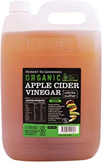 Honest to Goodness Organic Apple Cider Vinegar, 5 Kilograms