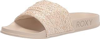 Roxy Slippy Jute Slide Sport Sandal womens Slide Sandal