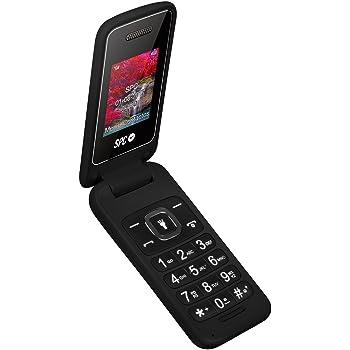 SPC Flip - Teléfono móvil (Dual SIM, Números y letras grandes, Agenda hasta 300 contactos, Bluetooth) – Color Negro: Spc: Amazon.es: Electrónica