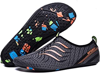 Men's Women's Summer Breathable Water Shoes Non-Slip Quick-Drying Casual Barefoot Socks Outdoor Sports Shoes for Swimming Surfing Yoga