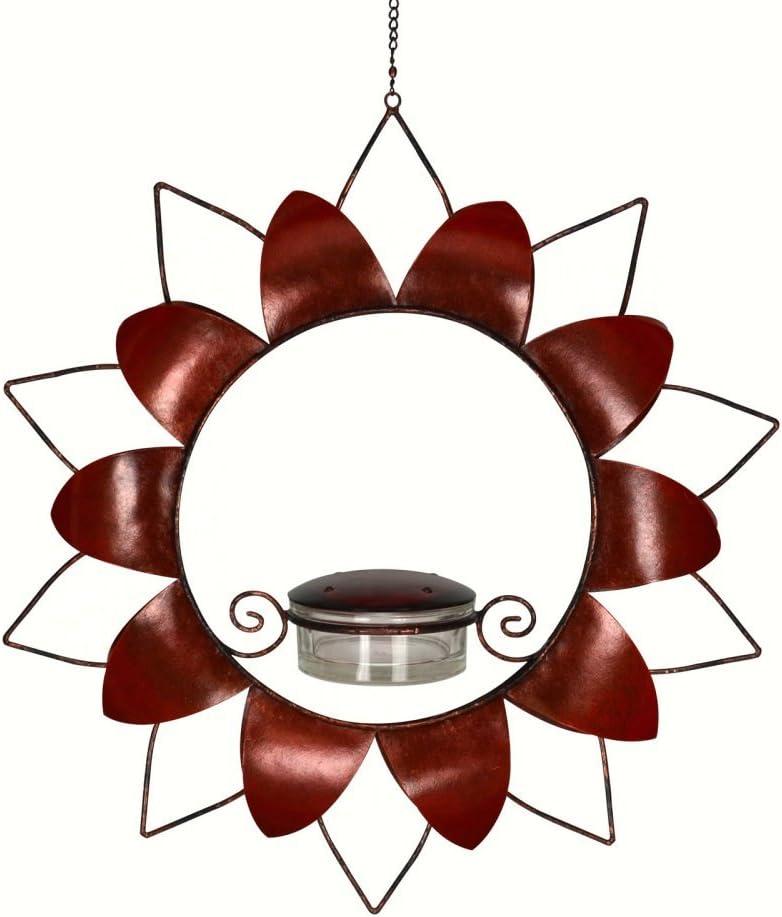 Gift Essentials 25% Kansas City Mall OFF Hummingbird Flower Red Feeder