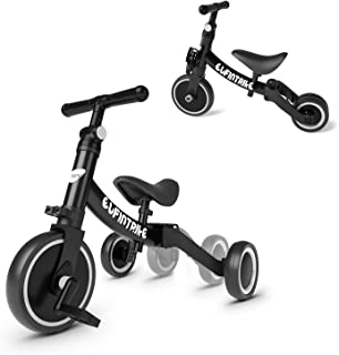 comprar comparacion besrey Triciclos para Niños 5 en 1 Triciclos Bebes Triciclos evolutivos Bicicleta Bebe Triciclo Bicicleta para Niño y Niña...