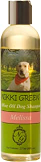 Posh&Co Nikki Green Olive Oil Dog Shampoo with Essential Oils, 8-Ounce