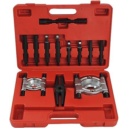 Cclife 3 Tlg Lagerabzieher Lager Abzieher Werkzeug Kfz Klauenabzieher 75mm 100mm 150mm Auto