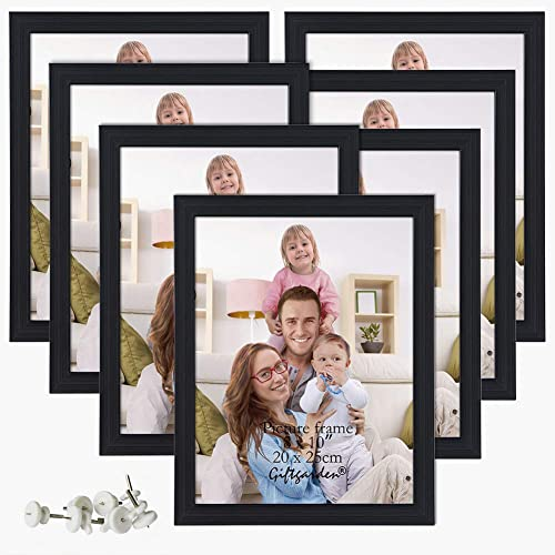 Giftgarden 8x10 Picture Frame Multi Photo Frames Set Wall Or Tabletop Display Black 7