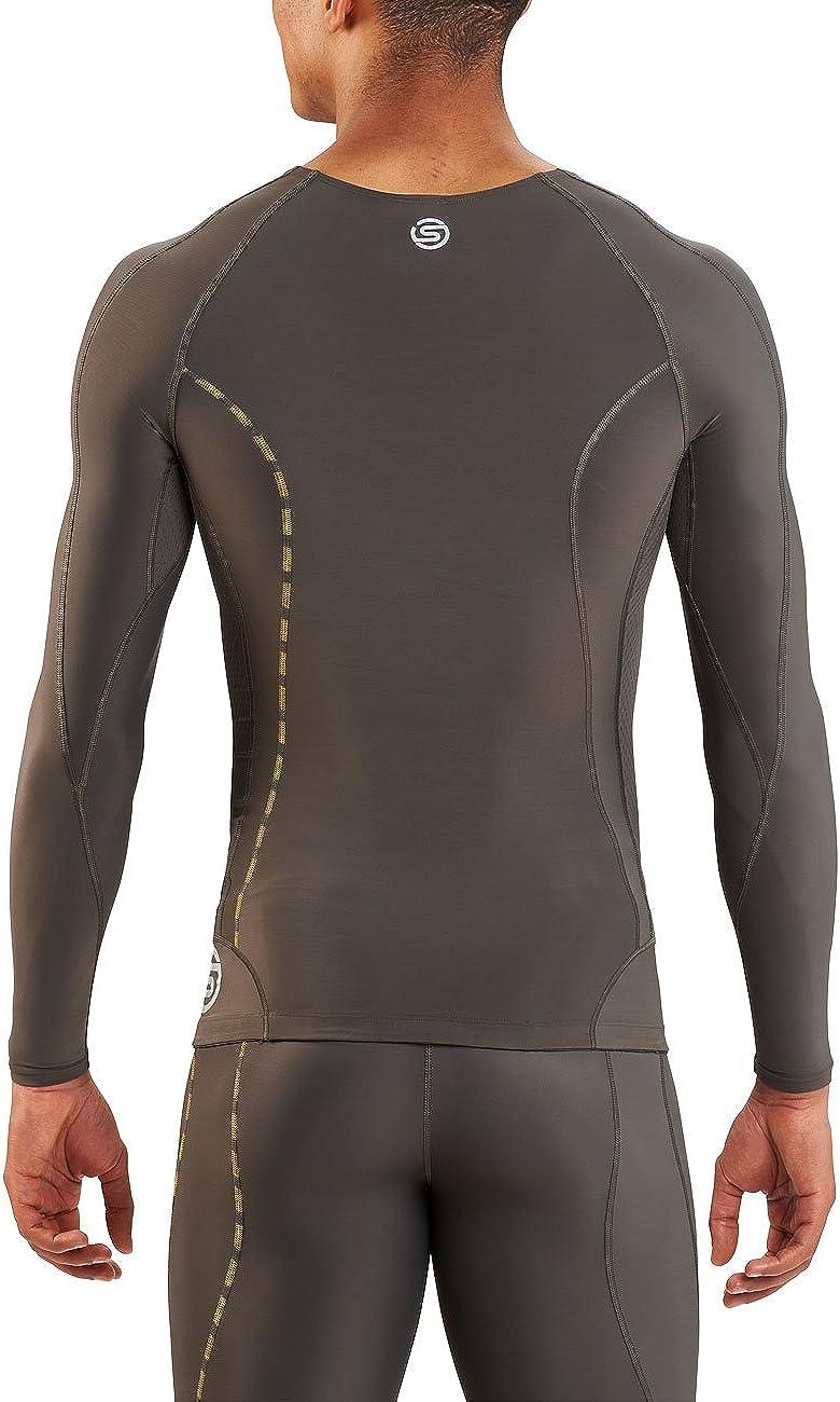 Skins DNAmic Compression Long Sleeve Top Herren Funktionsshirt Sportshirt