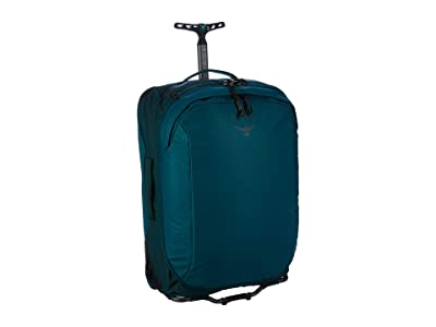 Osprey 42 L Transporter Wheeled Carry-On (Westwind Teal) Luggage