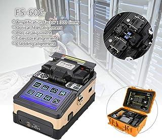 Acogedor Empalmadora de Fusión, 100V-240V, Máquina Empalmadora de Fibra Óptica, para Proyecto de fusión de Cable de Fibra Óptica en FTTH, Monitoreo de Seguridad, Enchufe de US(A)