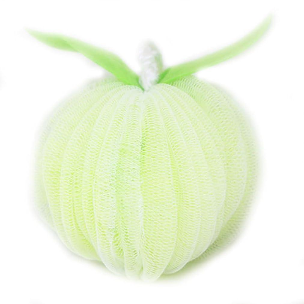 ミント修士号海藻泡立てネット バスボール 花形 タオル 超柔軟 つるつる ボディ用お風呂ボール ボディウォッシュボール シャワー用 崩れない 4種類の色選択 LissomPlume