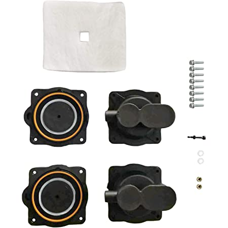 2 Pack AIR PUMP DIAPHRAGM REBUILD REPAIR KIT For HIBLOW HP-80 //HP-60 80PD000040